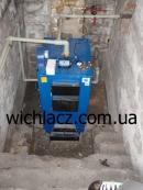 Wichlacz GK-1 50  kWt CTO Zaporozhe 1 котел на СТО в Запорожье